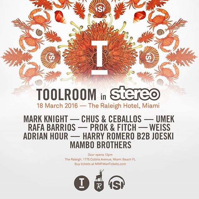 @toolroomrecords and @stereoproductions join forces…