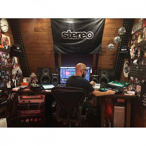 First studio day after the…