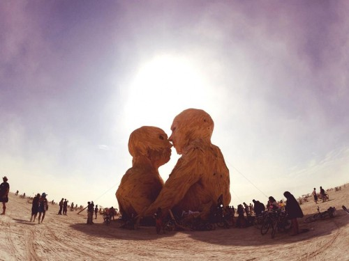 CHUS & CEBALLOS AT BURNING MAN, MAGIC IN THE DUST